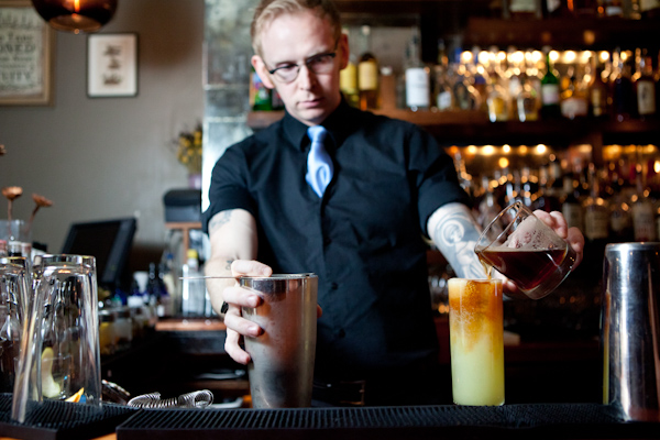 Mixologist Ian Hardie of Huckleberry Bar - New York, NY